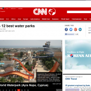 CNN Article WaterWorld WaterPark Ayia Napa
