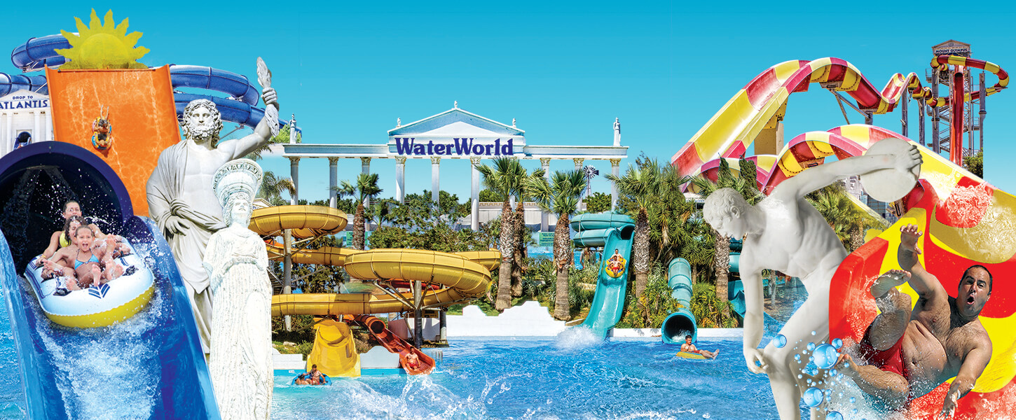 WaterWorld Themed Waterpark Ayia Napa Cyprus