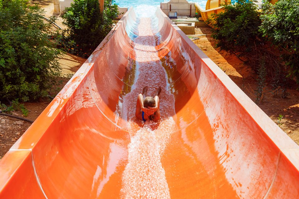 Phaethon's Flume slide at WaterWorld Themed Waterpark