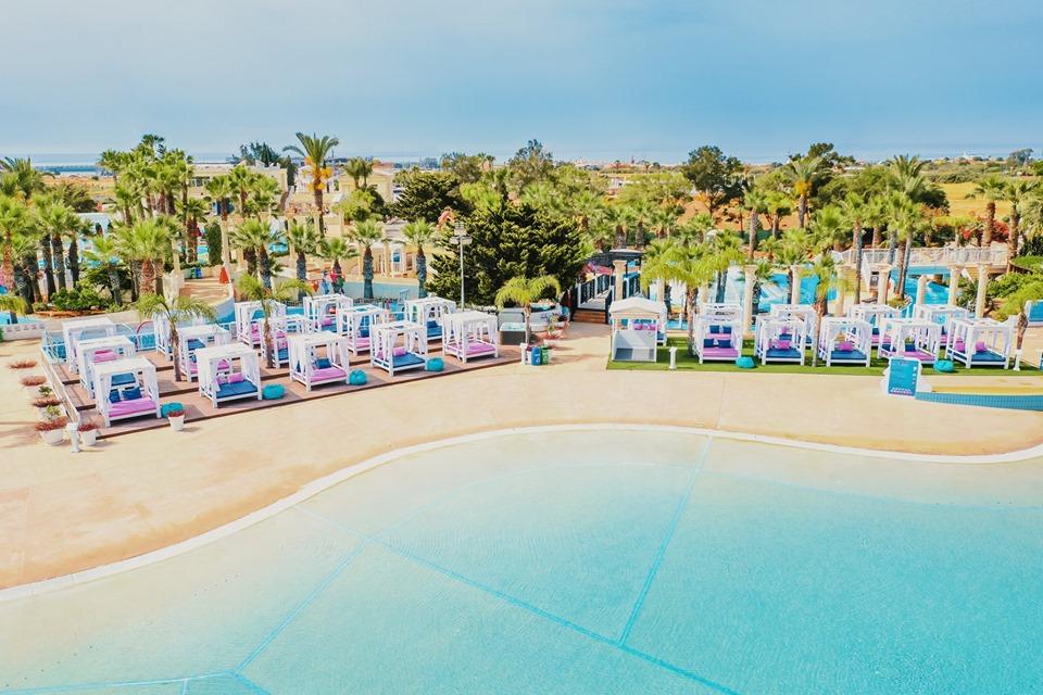 Thea VIP Cabanas at WaterWorld Themed Waterpark Ayia Napa Cyprus