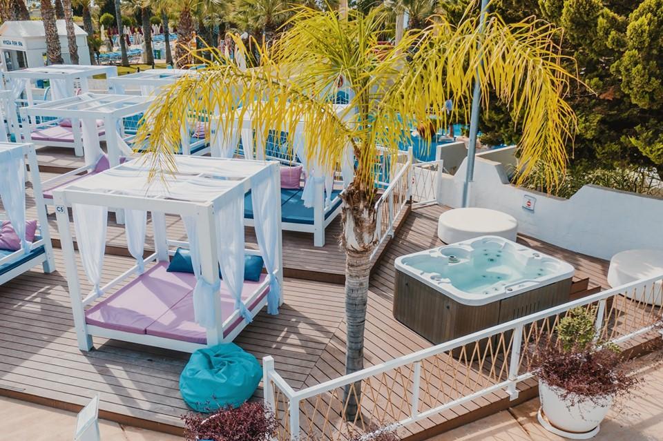 Thea VIP Cabanas at WaterWorld Themed Waterpark Ayia Napa