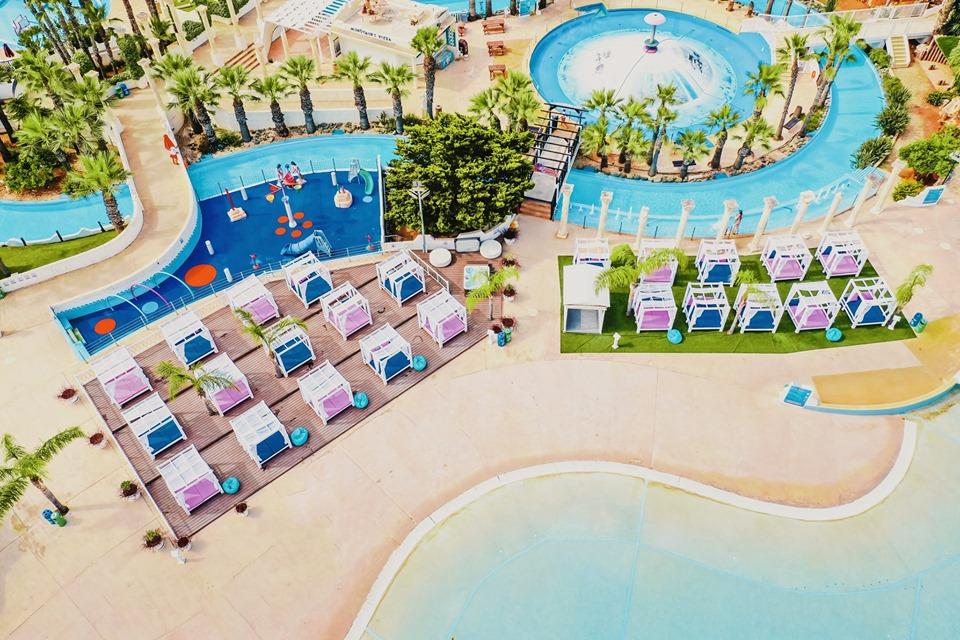 Thea VIP Cabanas at WaterWorld Themed Waterpark Cyprus