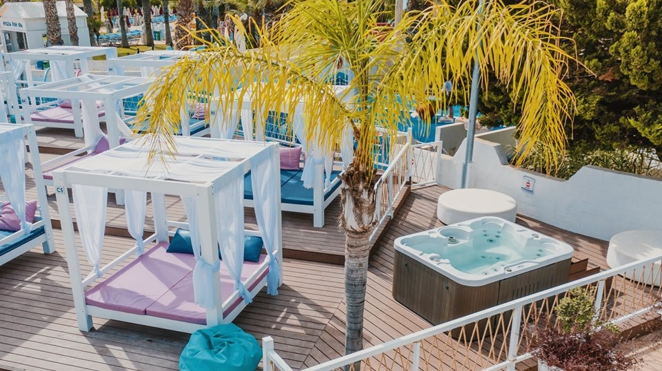 VIP Cabanas WaterWorld Themed Waterpark Ayia Napa - Cyprus