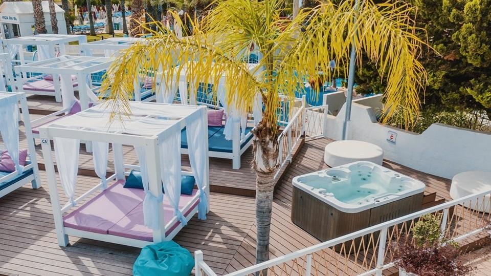 VIP Cabanas WaterWorld Themed Waterpark Ayia Napa - Cyprus