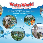 Water park Cyprus June 2019 Second day offer