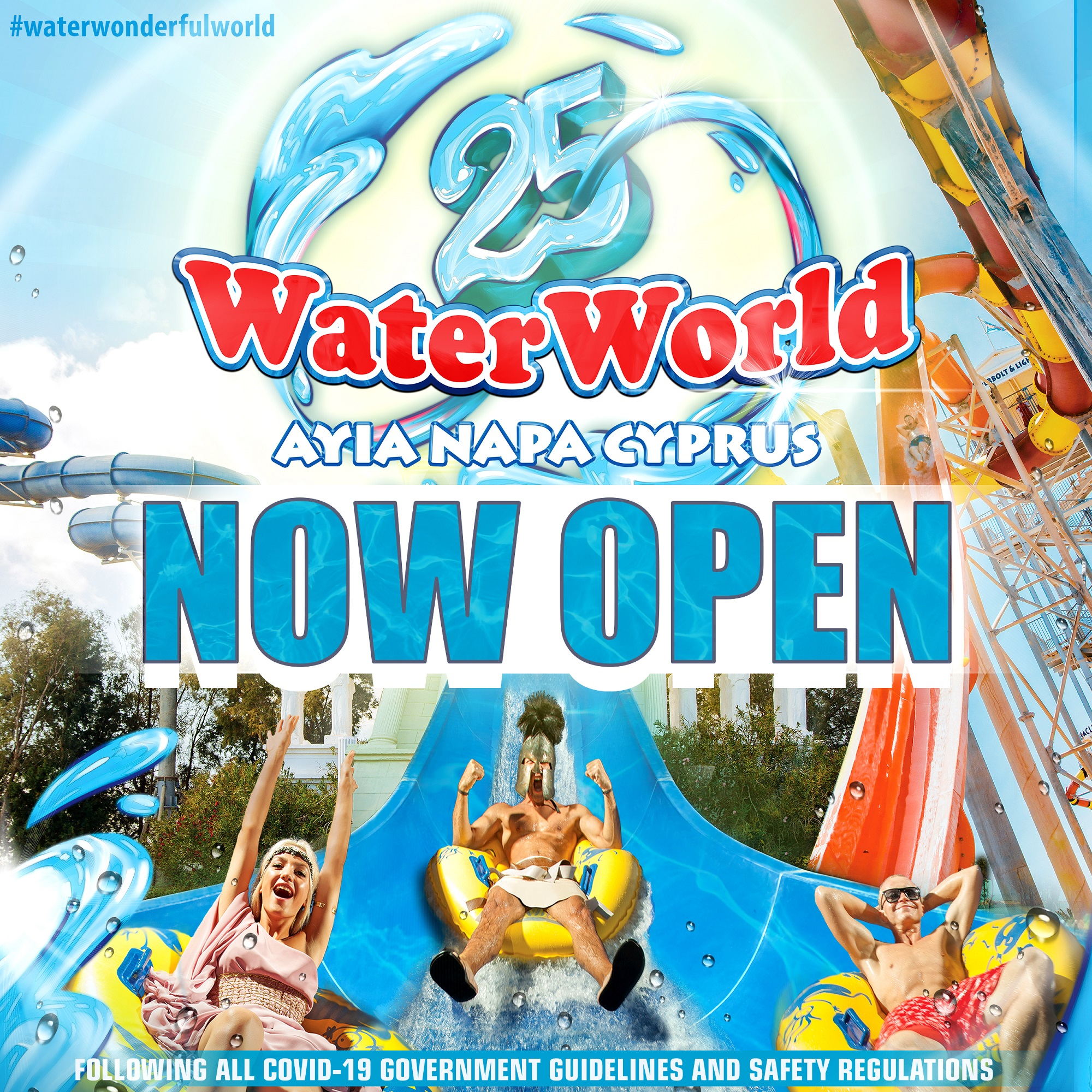 WaterWorld Themed Waterpark Now Open 2021